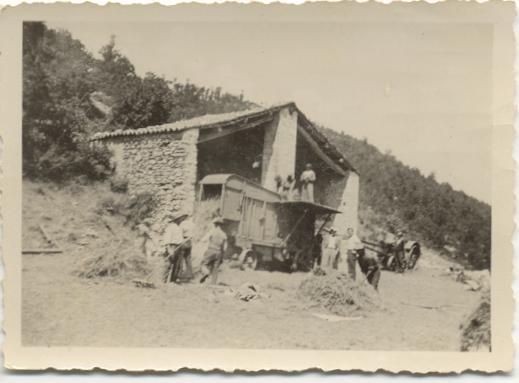 La trebbia sull'ara (Monteleone e Ruscio 1930-40)