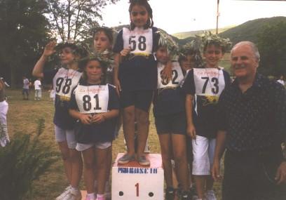 Le premiazioni (anno 2003)